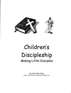 Discipleship Cover
